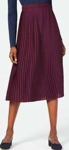 New Eileen Fisher Pleaded Skirt